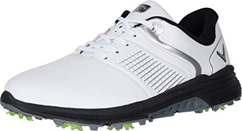 Callaway Men's Solana TRX Golf Shoes, White, 9, D