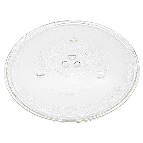 Primeswift P34 Microwave Glass Turntable Plate/Tray Replacement for Emerson Microwaves12 3/8(315mm)