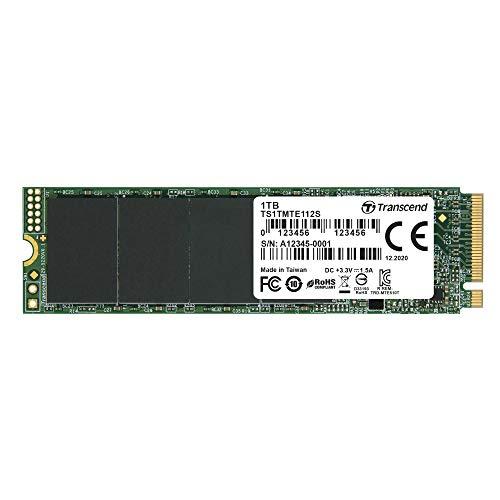 Transcend SSD MTE112S 1TB NVMe PCIe Gen3 x4
