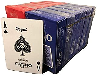Regal Games Casino Standard Poker Size Playing Cards (Set of 12 Decks)