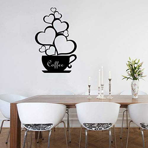 Geiqianjiumai koffiemok koffiekop liefde romantische muur intieme keuken decoratie schoonheid affiche kunst design wanddecoratie