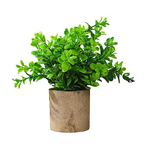 Nikula Konstgjorda krukväxter falska plastPhyllostachys eukalyptus växter för hem kontor skrivbord rum grönska dekoration bord badrum sovrum kontor heminredning ganska bra metod