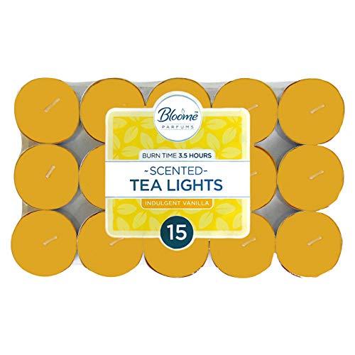 bloome Scented Indulgent Vanilla Tealights