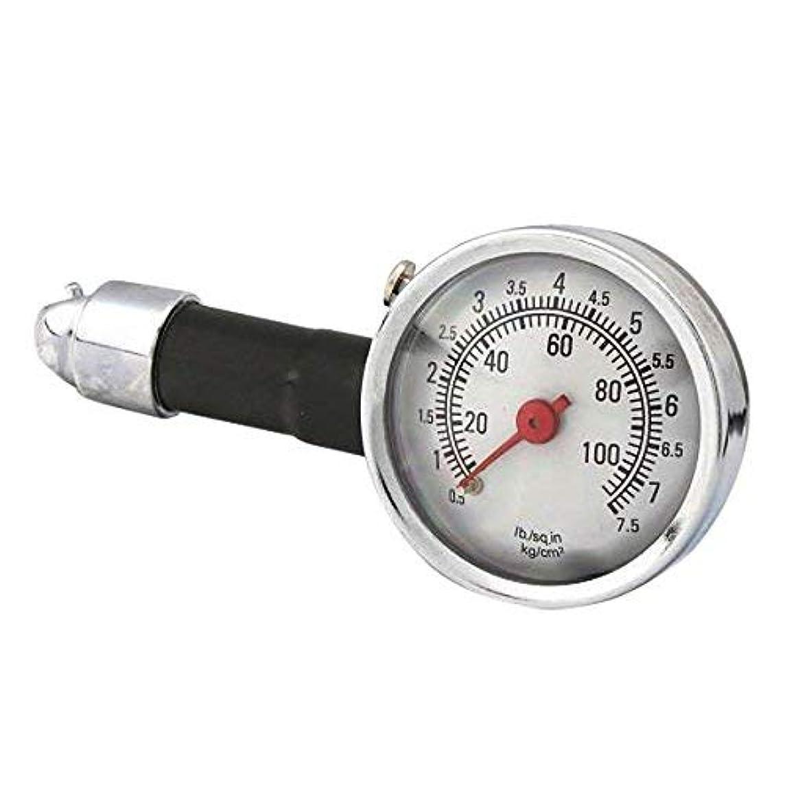 Other Tools - Car Dial Tire Gauge Meter Precision Pressure Tyre Measure Metal - Metal Tire Pressure Gauge Guage