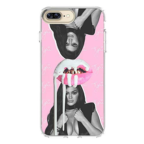 TRANSTMK KJAHKC Soft Clear TPU Silicone Transparent Phone Cases for Cover iPhone 6 Plus/Cover iPhone 6S Plus Case
