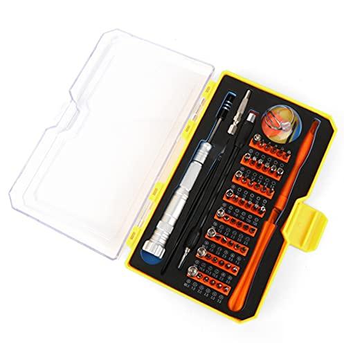 Juego de destornilladores de precisión de 66 piezas, kit de herramientas de reparación multifuncional para...