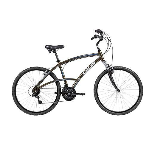 Bicicleta Alumínio 400 Masculina Aro 26 Verde 1 UN Caloi