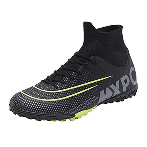 Inrrari Zapatos de fútbol Hombres Hombres Altos Top Pendientes Atletismo Zapatos de Fútbol Niños Adolescentes Adultos Capacitación Capacitación Profesional Atletico Atlético Deporte Zapatos Unisex
