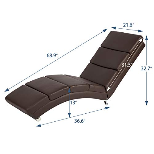 YOLENY-Synthetic-Leather-Chaise-Longue-with-Massage-FunctionMassage-Chair