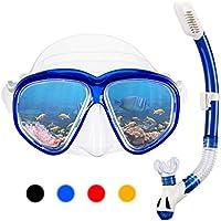 OMORCAnti Leak Dry Snorkel Set (Blue)