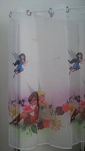 Disney Voile-Gardine Tinkerbell Breite 150 cm x Länge 150 cm, 59 Ösen