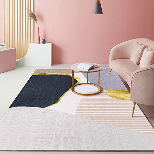 Alfombra Moderna para el hogar Alfombra Peluda para Sala de Estar, Dormitorio, Comedor o habitación de niños 120X180CM