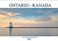 Ontario Kanada, Lake Huron und Georgian Bay (Wandkalender 2022 DIN A2 quer): Farbenpraechtige Sonnenuntergaenge, romantische Buchten und historische Leuchttuerme - Lake Huron und Georgian Bay verzaubern Kanada Fans. (Monatskalender, 14 Seiten )