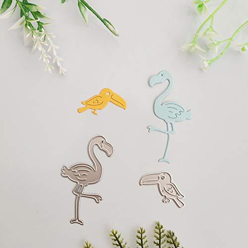 Eisvogel Angeln Vogel Zubehör schneiden sterben neues Messer sterben Metall schneiden Form 3D Kunstpapier DIY Dekoration