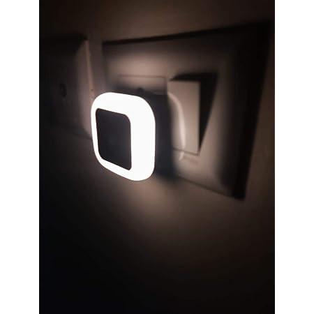 Hoard Sense Light 0.5W Automatic Sensor Smart LED Night Lamp - Made in India (Warm White, Pack of 1)