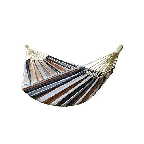 SPTAIR Voyage Camping Hamac | Capacité de Charge de 350 kg, (200 x 150 cm) Nylon de Parachute Respirant et à séchage Rapide | 2 Grands mousquetons, 2 Sangles, 1 Oreiller Gonflable, 1 Sac de Rangement