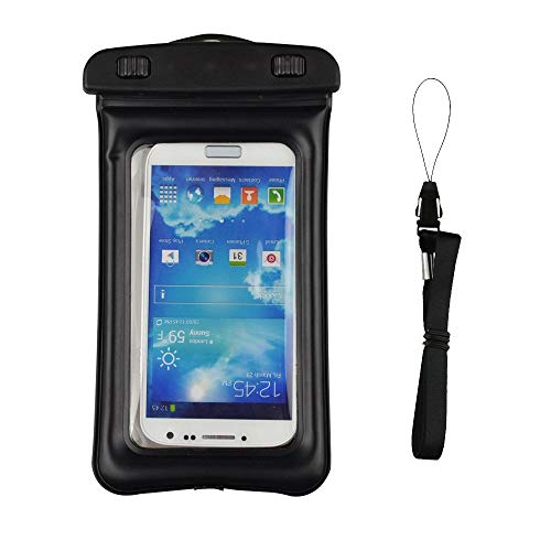 Protective Waterproof Pouch with Neck Strap Dry Bags Case for LG G8 ThinQ/LG G7 / LG V50 ThinQ/LG V40 ThinQ/LG V35 ThinQ/LG V30 / LG Stylo 4 / Motorola Moto G7 / G6 Plus / E5 Play Z3 / Z4 Play