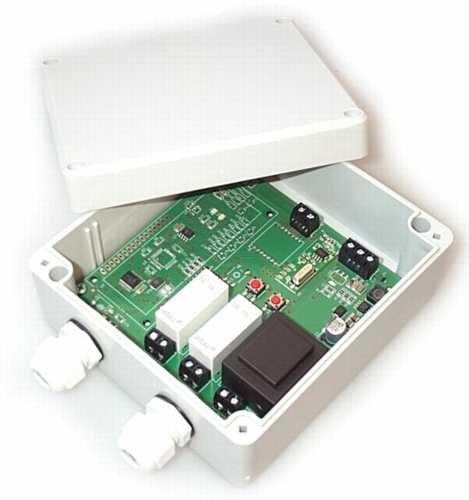 Funk Empfänger Steuerung für alle 433MHz Sender mit Keeloq, universal programmierbar, 2 Kanal mit je 230V / max. 16A Relais, ADK-7 als Garagensteuerung, Lampensteuerung, Jalousiesteuerung, Pumpensteuerung etc. einsetzbar