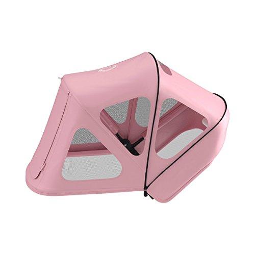 Bugaboo Buffalo Parasol con ventanas de ventilación rosa