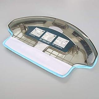 Simuke - 1 dep?sito de agua + 1 pa?o de limpieza para aspiradora Ecovacs Deebot DT85G DT85 DT83 DM81 DE35
