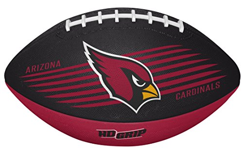 NFL Arizona Cardinals 0773108111NFL Downfield Fußball (alle Team-Optionen), Rot, Youth