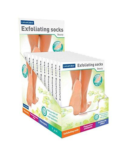 les chaussettes EXFOLIATING SOCKS rendent à vos pieds douceur et souplesse