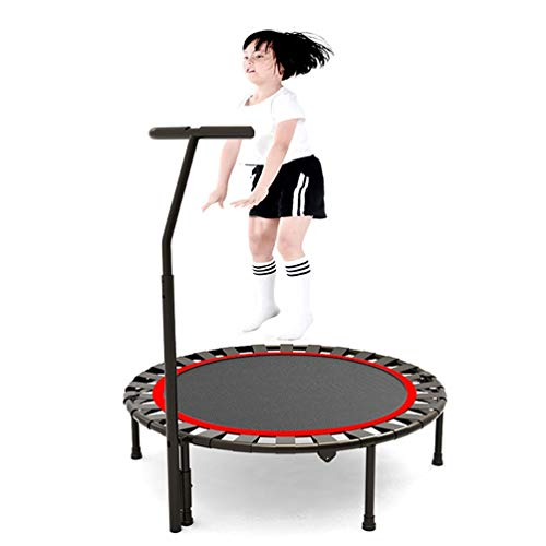 TRAMPOLINE AGYH Foldable, Elastic Rope With Adjustable Armrests, Very Suitable For Fitness Training Indoor/garden/exercise, 40in/48in, Safety Load 150kg (Size : 40in)