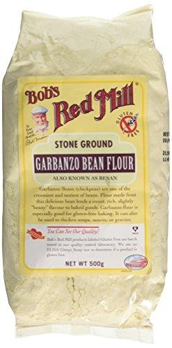 BOB'S RED MILL Gluten Free Garbanzo Flour 500g (PACK OF 1)