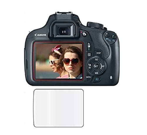 M.G.R.J® Tempered Glass Screen Protector for Canon EOS 1500D / 1300D / 1200D