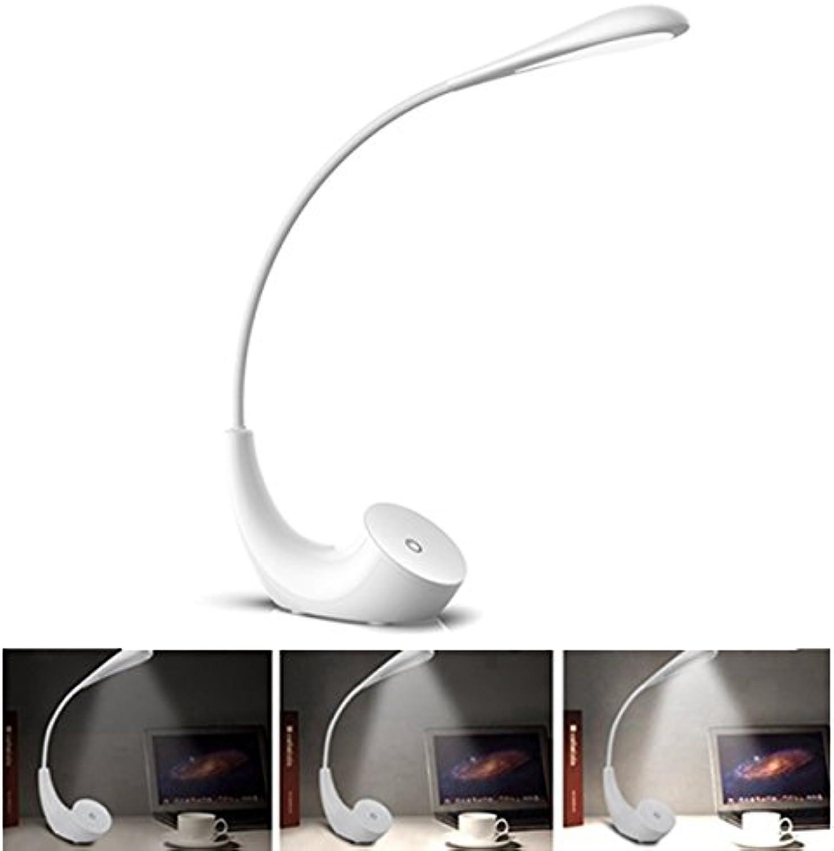 Wuchance 3W faltende Touch Control Dimmable Tischleuchte Eyecare USB Leselampe für Office Home (Farbe   schwarz) B07JLL9VSS  | Merkwürdige Form