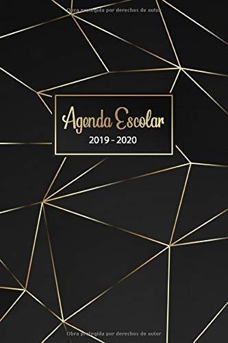 Agenda Escolar 2019 2020: Agendas 2019 2020 Semana vista - Organiza tu día - Calendario 2019 2020 - Agenda semanal de Estudios | Noviembre 2019 a Diciembre 2020 (Spanish Edition)