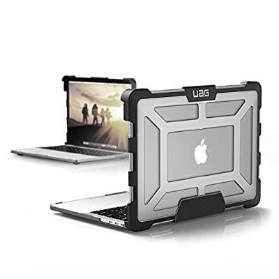 Urban Armor Gear UAG MacBook Pro 13-inch (4th Gen, 2016-2019) Feather-Light Rugged Ice Military Drop Tested Laptop Case