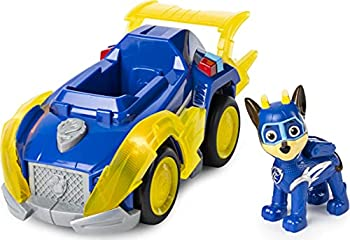 PAW Patrol Mighty Pups Super PAWs Chase's Deluxe Vehicle with Lights and Sounds