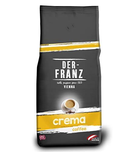 Der-Franz Crema-Kaffee UTZ, ganze Bohne, 1000g