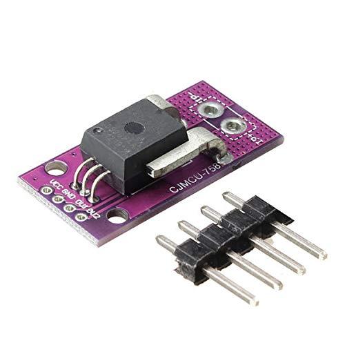 Sensor & Detektormodul ACS758LCB-050B-PFF-T Linearstromsensor Hall Current Modul für Arduino – Produkte, die mit offiziellen Arduino Boards arbeiten