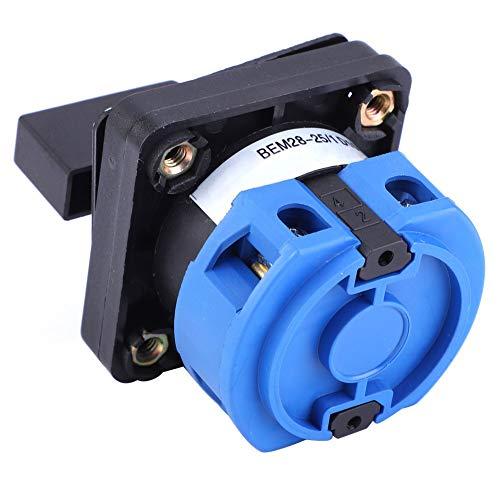 Interruptor de cambio universal, canal de banda de cubierta eléctrica 25A Tipo de posicionamiento de plástico