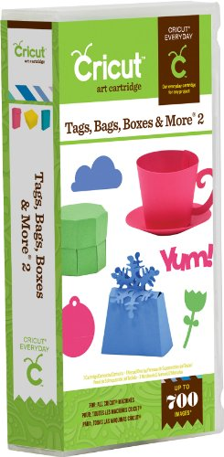 Cricut Cartridge - Tags Bags Boxes and More 2