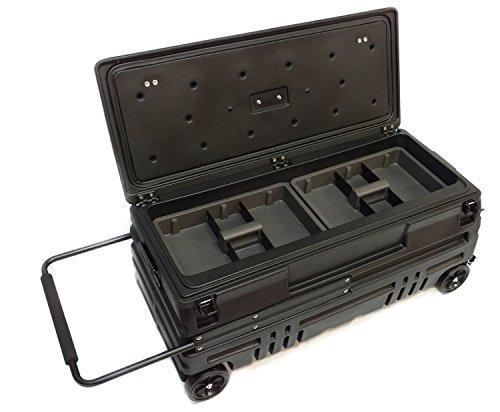DU-HA Squad Box, Portable Truck/SUV/Jeep Storage with Manual Latch, Black, Part #70600