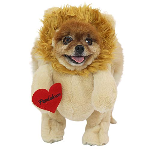Pandaloon Lion Dog and Pet Costume Set - Walking Teddy Bear with Arms (Size 2 (15-17 in Total Height - http://coolthings.us