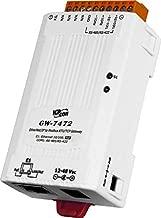 ICP DAS USA ICP-GW-7472 Ethernet/IP to Modbus RTU/Modbus TCP PoE Gateway, Compatible with Allen Bradley Modules.