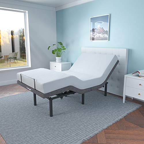 Adjustable Smart Electric Bed Base Frame with Wireless Remote