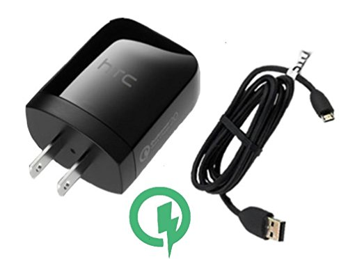 Rapid Quick Charge 3.0 Wall Kit Certified for Lenovo IdeaTab S6000 Will Charge up in a Blink, up to 80% Faster Than Conventional Chargers! [3ft Cable, 20W Dual Voltage!]