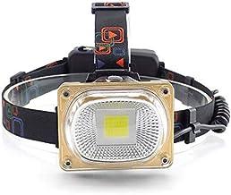 yywl led koplamp High Power LED COB Koplampen USB Oplaadbare Koplamp Frontale zaklamp Hoofd Lamp Zaklamp Camping Lantaarn