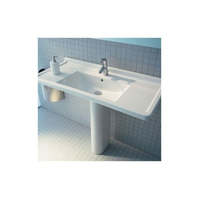Starck 3 Pedestal Bathroom Sink