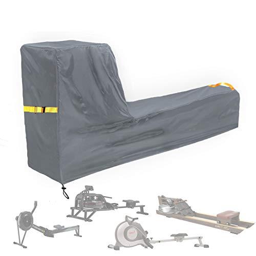 Aaaspark - Funda protectora para máquina de remo (impermeable, resistente al polvo, resistente al agua, tela Oxford resistente y duradera, para máquina de remo deportiva
