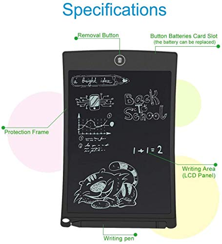 SUPER TOY LCD Writing Tablet 8.5Inch E-Note Pad 3