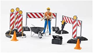 Bruder 62000 bworld Construction Set with Man (Colors May Vary)