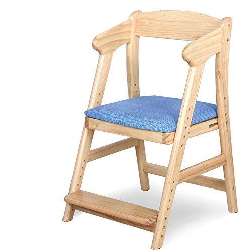 QFFL Chaise à Manger Chaise d'étude en Bois Massif Ascenseur Ascenseur Chaise Enfants Manger à Manger Chaise 2 Couleurs Disponibles Tabouret d'extérieur (Couleur : A)