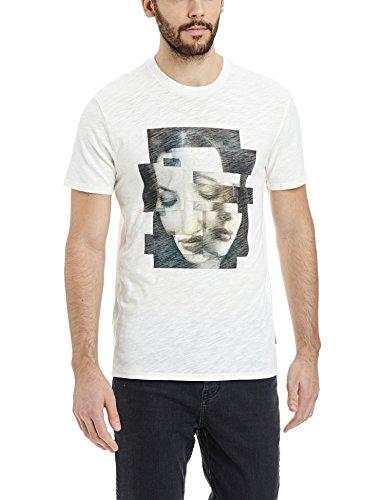 Bench Herren T-Shirt Transmutation, Gr. Small, Elfenbein (Cream CR004)