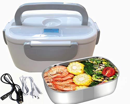 Nifogo 3 en 1 Lunch Box Électrique pour la Voiture et Un Camion et Bureau - Gamelle Chauffante...